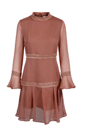 Allison kjole rosa